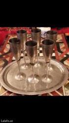6 eded boyuk shampan ucun fujerler+padnos