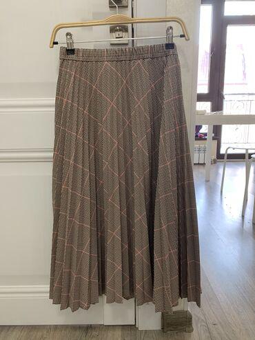 платье миди в полоску в Кыргызстан: Продается, Юбка миди от Mango Почти новая, состояние отличное Один раз