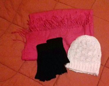 Πασμίνα, γάντια, σκούφος - αφόρετα σε Kamatero
