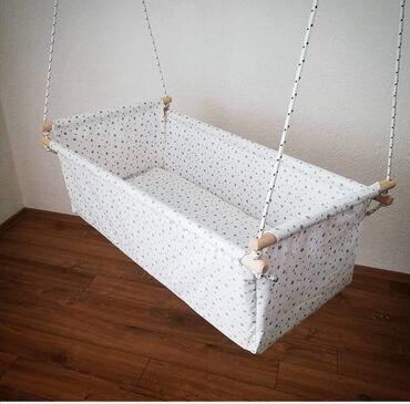 Za visinu - Srbija: Kolevka za bebe, moj rucni rad. Za bebe od rodjena. Koristi se kako u