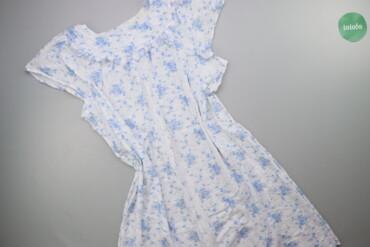 Жіноча нічна сорочка в квіти р. 4XL   Довжина: 108 см Ширина плечей: 4
