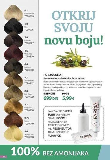 Ona kosulja - Srbija: Da li ste probale Farmasi farbe za kosu?Bez amonijaka su - što znači