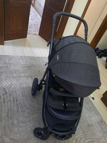 Продаю коляску зима-лето joie mytrax signature темно серого цвета