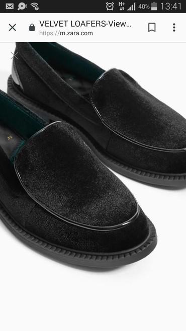 туфли черные 35 размера в Кыргызстан: Туфли zara заказывала из штатов состояние новых обули пару раз !!!