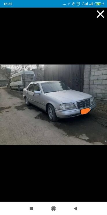Mercedes-Benz C 200 2 л. 1996 | 200 км