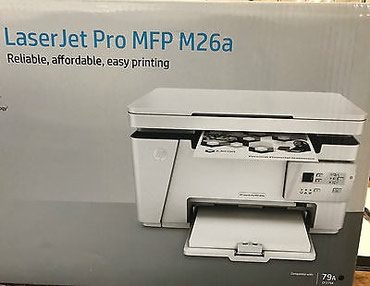 Принтер МФУ All-in-One HP LaserJet Pro MFP M26a (A4, в Бишкек