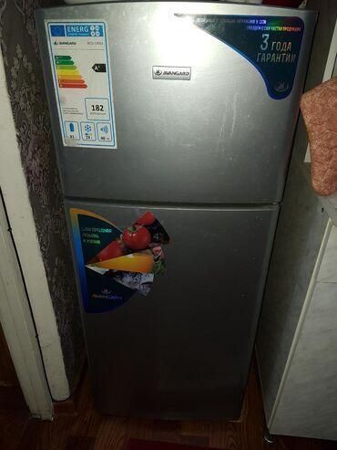 Техника для кухни в Душанбе: Б/у Двухкамерный Серый холодильник