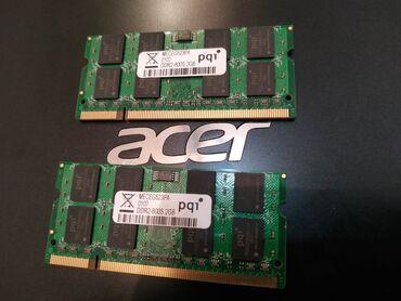 Продам перативную память для ноутбука ддр2 2гб парные можно можно