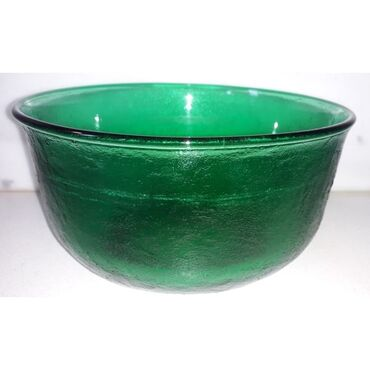 Σαλατιέρα μπολ σε πράσινο χρώμα ( 1974 )Διάμετρος: 22 εκατ.Βάρος