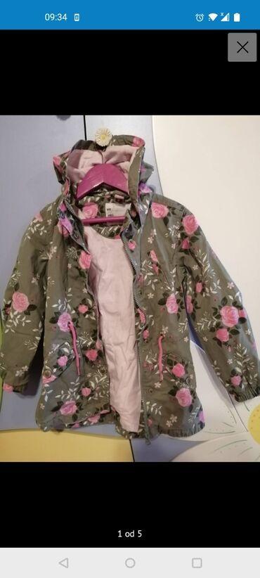 Mantilic-jaknica dopodopo vel 116,kao nov-1.200 din