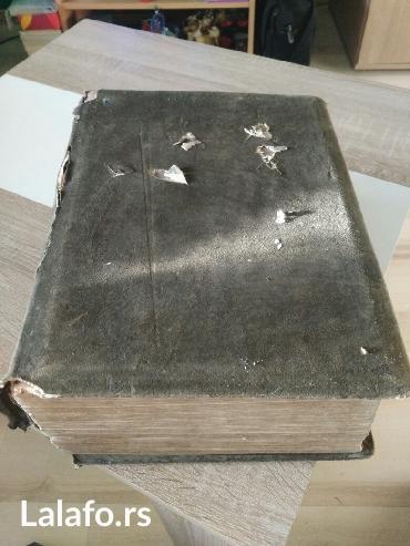 Engleski rečnik 1898 godina. Preko 2000 stranica ima i u boji. - Zrenjanin