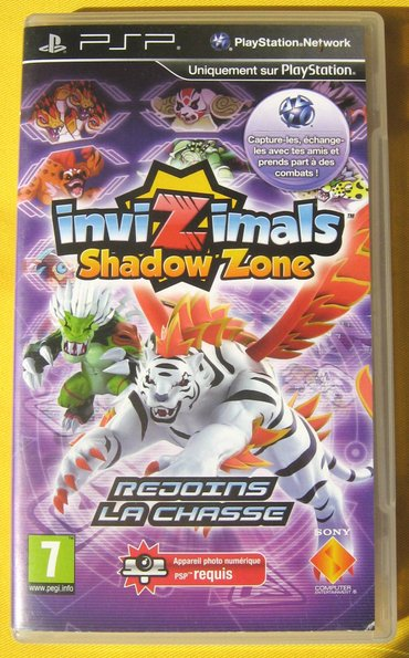 Igra za sony psp - invizimals: shadow zone. Godina: 2010  ne - Beograd