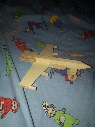Rc avion - Srbija: Avion od drveta