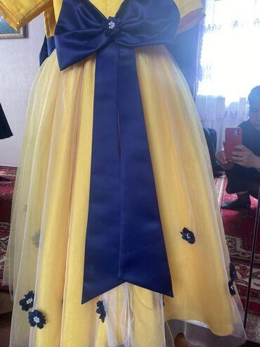 Очень красивое бальное платье на худенькую принцессу 5-6 лет одевали 2