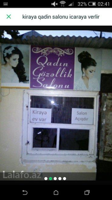 Bakı şəhərində icaraya qadin salonu verilir hazi aslano pasyolkasinda meqa store mark
