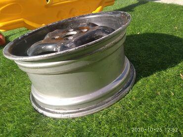 диски титановые в Кыргызстан: Торг возмлжен .Диски титановые Герман R15 ремонт болгон эмес