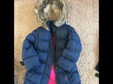 Куртка синяя осень/весна на 4-5 лет (110 в Бишкек