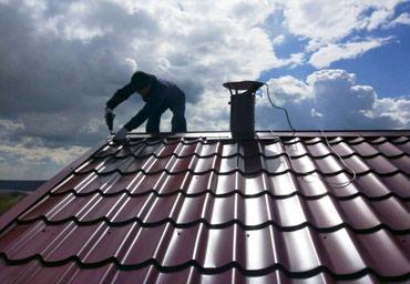 Крыша кровля металлочерепица в Бишкек