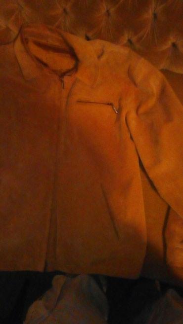 Jakna jelenska koža .prodajem ocuvanu jaknu nescaffe boje. - Nova Pazova