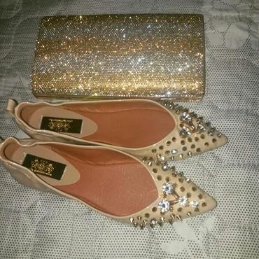 Женская обувь в Токмак: Балетки и клатч 1500 сом за оба)) носила Один раз