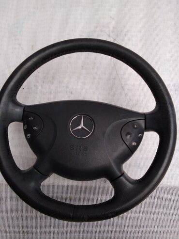 РУЛЬ НА МЕРСЕДЕС 211 Mercedes Benz E240АВТОХАБ АВТОЗАПЧАСТИ ИЗ ЯПОНИИ