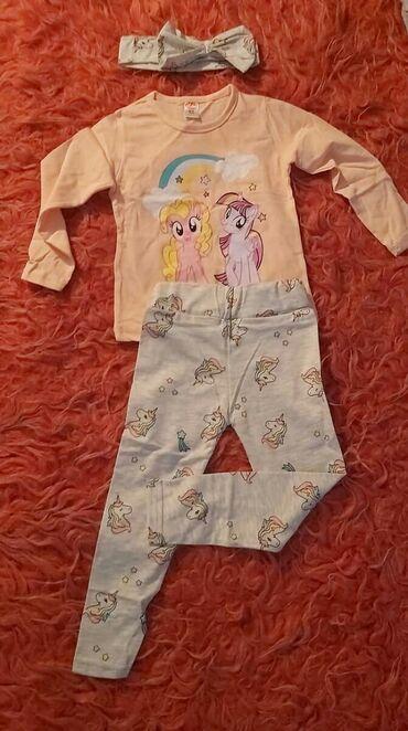 Ostala dečija odeća | Sabac: Trodelni komplet u velicini 2/3