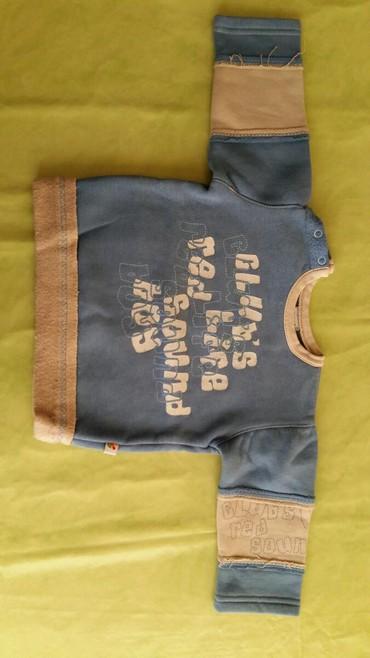 Deblji duks za bebe vel. 12-18m polovan,ocuvan,100% pamuk - Petrovac na Mlavi