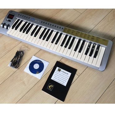 Midi клавиатура Evolution mk249 новая каробка документы в Джалал-Абад