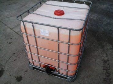 Антифриз -45 в Еврокубах 1000кг. 70 сом за кг, красный, жёлтый в Бишкек
