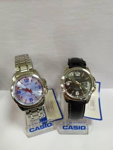 Серые Женские Наручные часы Casio