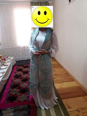 Платье на кыз узатуу размер 42-44) одевала один раз в Бишкек
