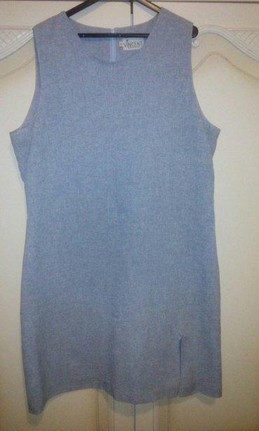 Ženska odeća | Boljevac: Haljina sive boje. Broj 40. Kao nova. Zakopcavanje otpozadi
