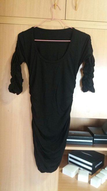 Kao nova crna uska pamučna haljina. Intenzivno crne boje, stoji veoma - Kragujevac