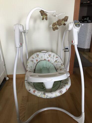 Ljuljaska za bebe - Srbija: Ljuljalica na struju kao nova par puta upotrebljena