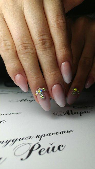 наращивание ногтей, дизайны любой сложности!!! в Бишкек - фото 2