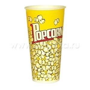 Стакан бумажный для попкорна,  Объем стаканов от 0,7 - 5,7л.  в Бишкек