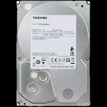 шифер 6 волновой купить в Кыргызстан: Жёсткий диск Toshiba 6Тб 7200rpm, 128Mb, DT02ABA600Количество