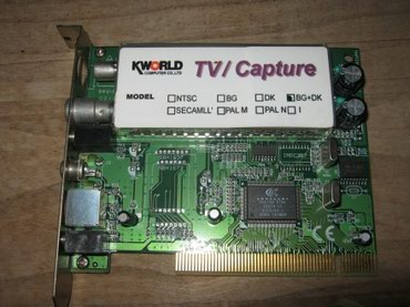 Elektronika - Cacak: Kworld Tv karta