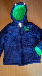 H-m-zelena-kosulja-sa-kristalnim-detaljbroj - Srbija: Zimska jakna za dečaka, veličina 122 ( 6-7 years ). Jakna je teget