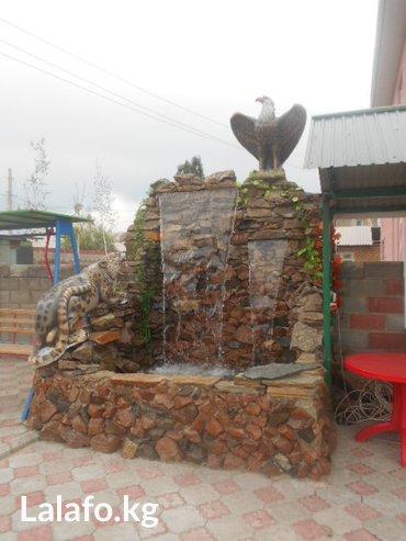 Возведение водопадов и альпийских горок любой сложности.  в Бишкек - фото 2