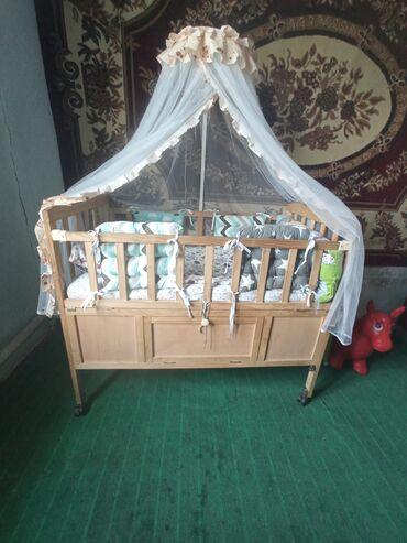 47 объявлений: Продаю кровать детская в хорошем состояний вместе с матрасом имеется