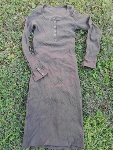 Pantalone boja maslinasto zelena kvalitetne super meka - Srbija: Nova haljina, bruseni pamuk, velicina univerzalna. Boja maslinasto