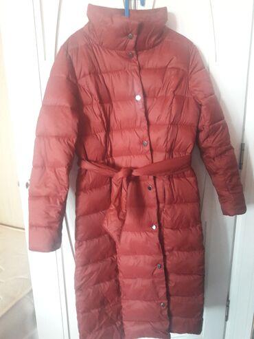 Зимняя качественная куртка Paolo Zamboni, размер M но большемерит на