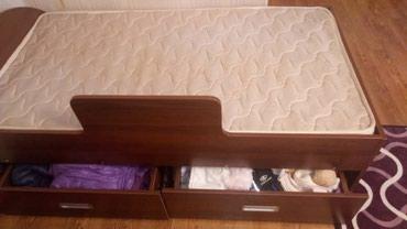 Подростковая кровать с глубокими ящиками ,5000 с все вопросы по тел. в Бишкек