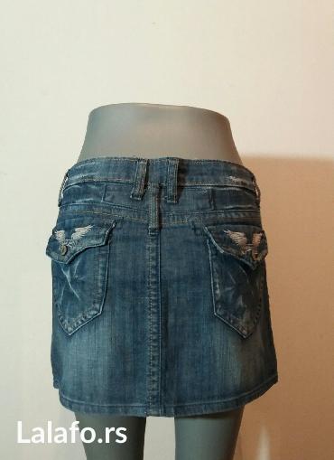 Teksas suknjica,uvek aktuelna i u trendu... - Beograd - slika 3