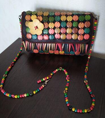 сумку для выписку в Кыргызстан: Продаю сумку. Ручная работа Привезли с Грузии