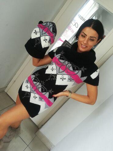 Tunika svila - Srbija: Super rolka tunika džemper sa kapomExtra mekana trikotažaTopao super