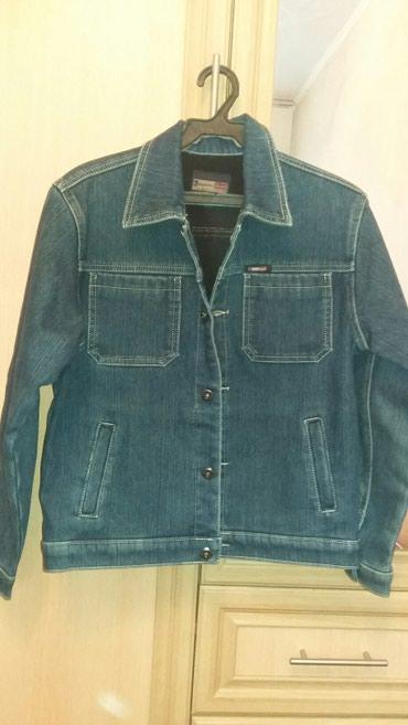 Продаю деми джинсовую куртку с подкладом 8-10 лет в хорошем состоянии