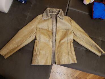 Kozna jakna sa krznom - Srbija: Zenska kozna jakna sa krznom  Prava koza! M velicina Licno preuzimanje