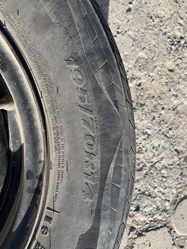 Продаю диски с шинами R14 в хорошем состоянии шины летние